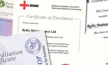 Refix accredited with ContractorPlus